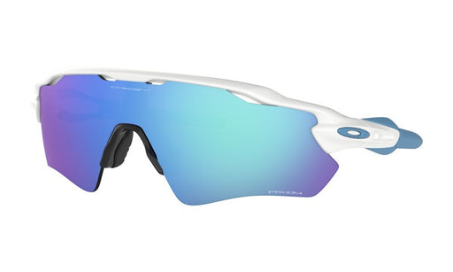 Oakley Radar EV Path Polished White Prizm Sapphire Iridium