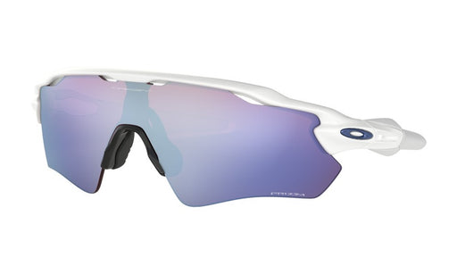 Oakley Radar EV Path Polished White Prizm Sapphire Snow