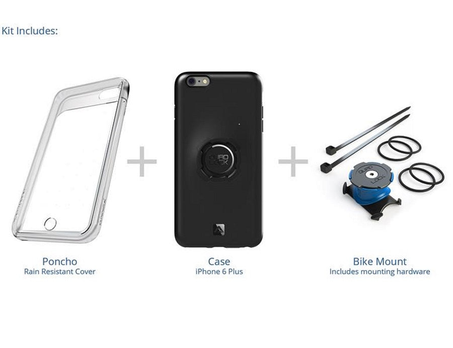 Quad Lock Bike Kit iPhone 7Plus/8 Plus | phone_mounts_component