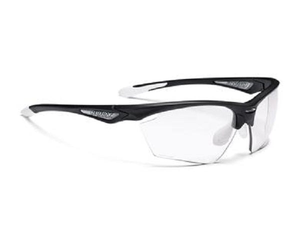 Rudy Project Stratofly Cykelbrille. Black Gloss/Photo Clear.