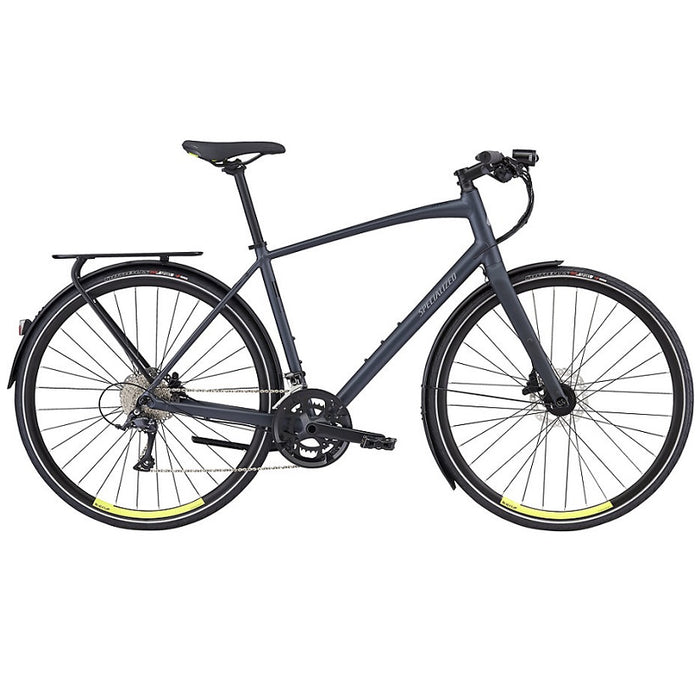 Specialized Sirrus Sport EQ 2018 - Black Top Collection | City-cykler