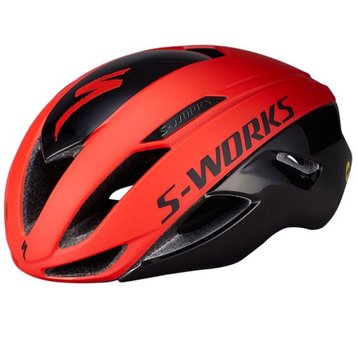 Specialized S-Works Evade II Cykelhjelm - Rocket red/Black
