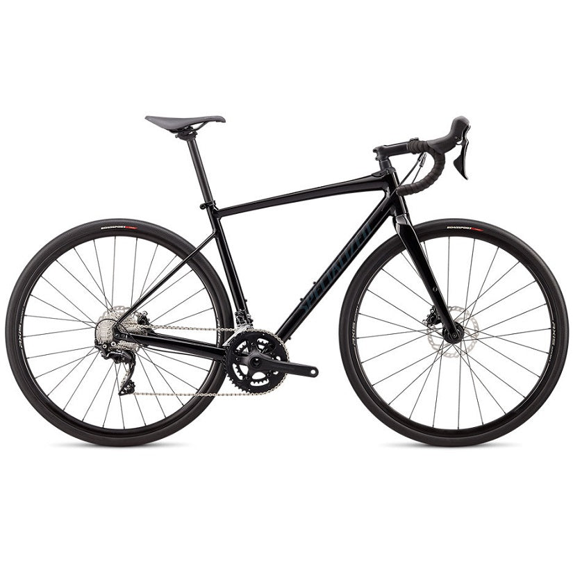 Specialized Diverge Comp E5 2020 Gravelbike - Gloss Black | Cross-cykler