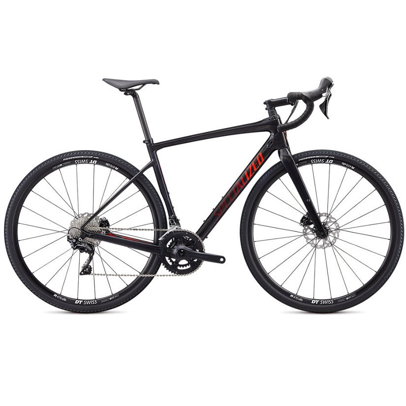 Specialized Diverge Sport Carbon 2020 Gravelbike - Gloss Carbon | Cross-cykler