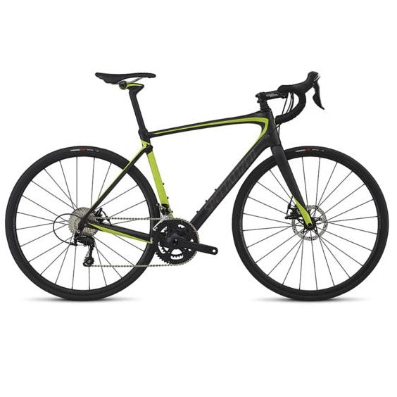 Specialized Roubaix Elite 2017 - carb/hyper/charcoal | Road bikes