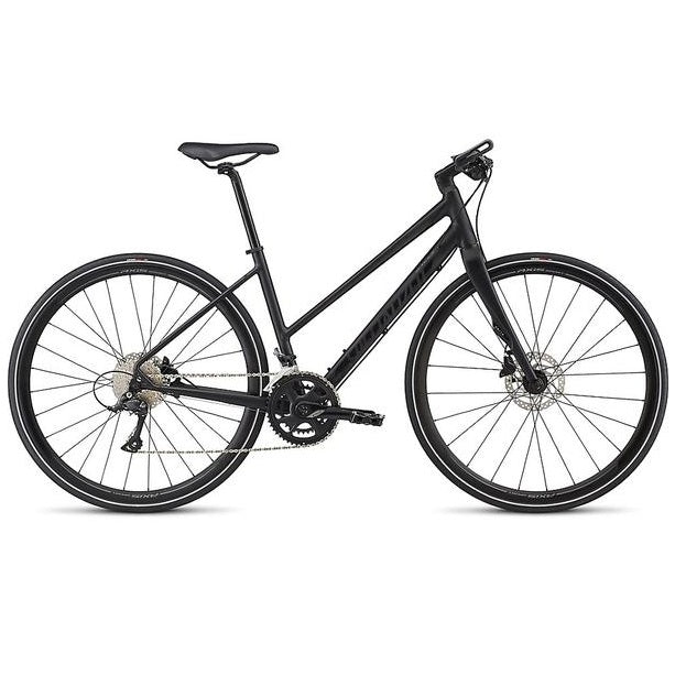 Specialized Vita Elite ST - sort dame citybike