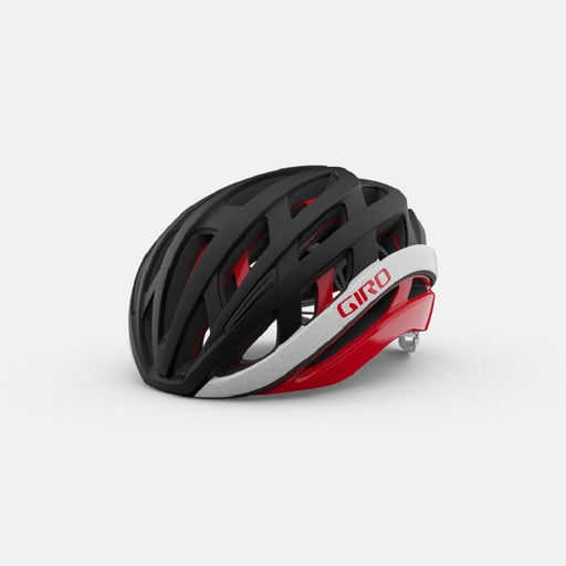 Giro Helios Spherical - Mat Sort/Rød