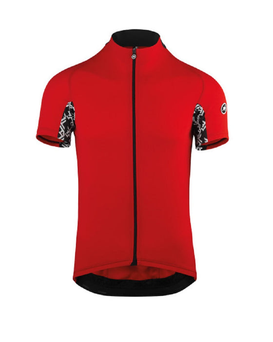 Assos MILLE GT SHORT SLEEVE JERSEY. National Red.