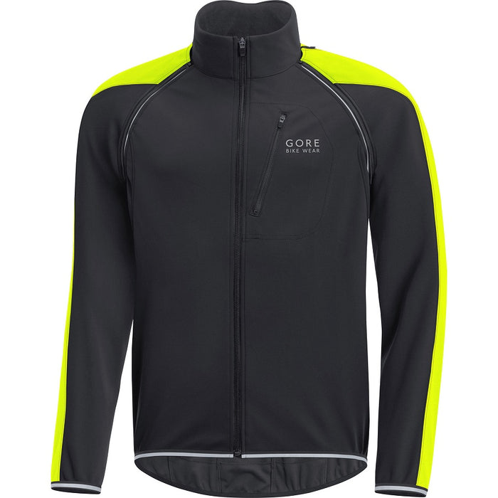 GORE C3 WINDSTOPPER PHANTOM Zip-Off Jakke - Sort/Neon