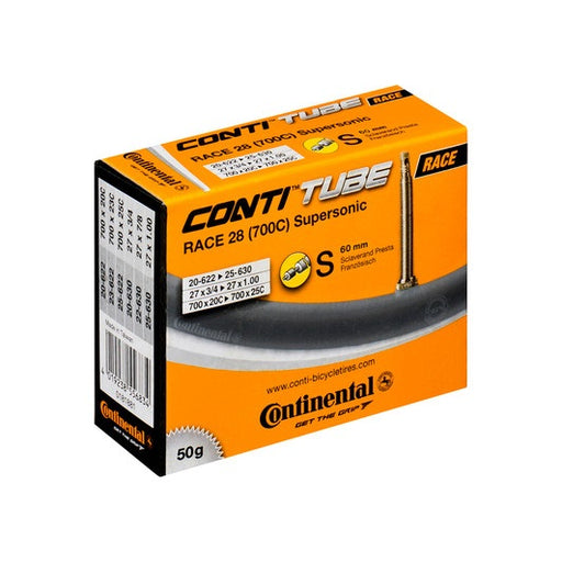 Continental Race 28 Supersonic slange 60mm ventil