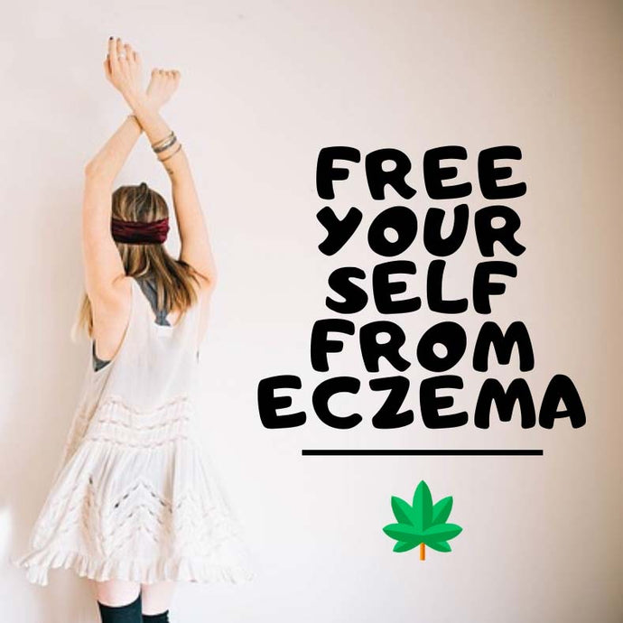 Skincare treatment with hemp seed oil for eczema