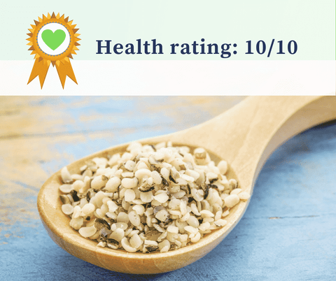 Hemp on spoon health rating