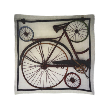 Talking Walls noud single face single face square scarf bike