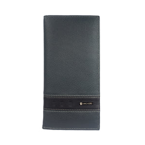 SPACE CRAFT Bifold Belt Strap Long Leather Wallet - ARW1011CO