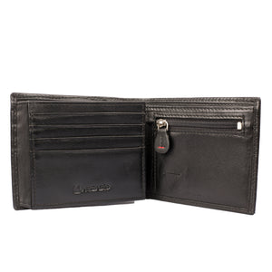 MESHMERIZE Bifold Dual Toned Leather Wallet - ARW1007BK