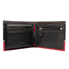 TRIPLE TREAT Bifold Triple Toned Leather Wallet - ARW1008MT - ARCADIO LIFESTYLE