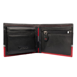 TRIPLE TREAT Bifold Triple Toned Leather Wallet - ARW1008MT