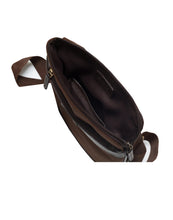 KING-OF-SLING-Leather Binded sling Bag - ARSB1003BR