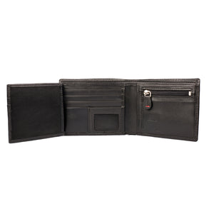 HIGH SPIRITS Bifold Spirit Pattern Leather Wallet - ARW1006BK