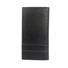 SPACE CRAFT Bifold Belt Strap Long Leather Wallet - ARW1011BK