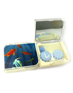 SHOPOHOLIC - Designer Contact Lens Cases  - A8032BL