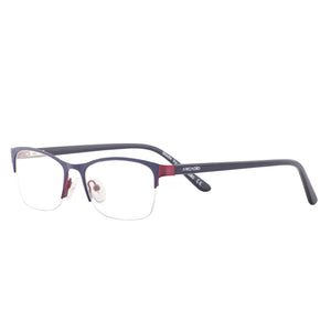 Fashion feminine half frame with two tone front with acetate temple - SP2214 - ARCADIO LIFESTYLE