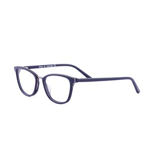 Golden rim cat eye retro edition frame SF4428