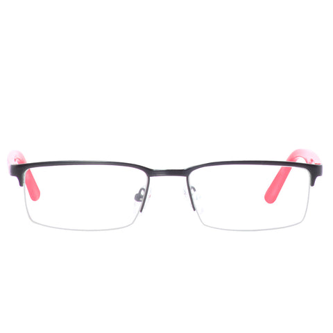 Metal half frame with acetate temple - SP2205 - ARCADIO LIFESTYLE