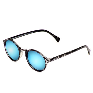 Hi-Fashion Round Polarized Sunglass - AR224,BD-ICP,front