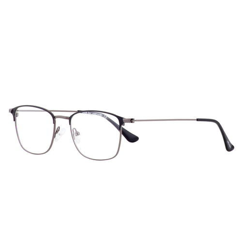 Retro style ultra thin full rim rectangle frame - FF365 - ARCADIO LIFESTYLE