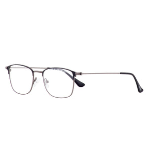 Retro style ultra thin full rim rectangle frame - FF365