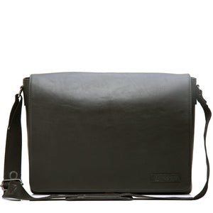 EYE GRABBER-Smart Business Leather Bag ARBB-103BK - ARCADIO LIFESTYLE