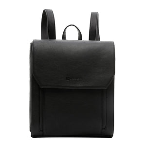 Smart Leather Backpack - ARBP1003BK - ARCADIO LIFESTYLE
