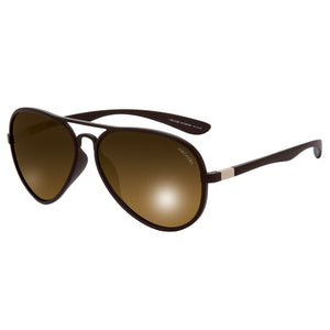Polarized Unisex Fashionable Sunglass - AR197BR-BRP