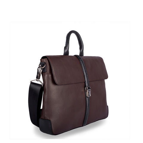 SIMPLY DASHING-Premium Business Leather Bag - ARBB1004BR - ARCADIO LIFESTYLE