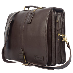 TOUCH OF CLASS-Business Leather Bag - ARBB1011BR
