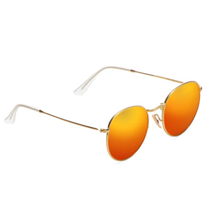 Round Metal Polarized Sunglass - AR219