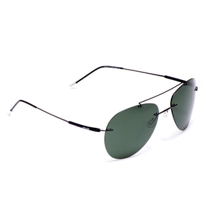 Niche Ultra-Light Rimless Polarized Sunglass - AR218