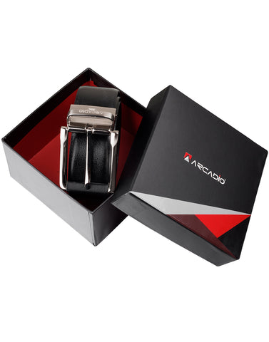 SMARTISTIC - Hi-Fashion Reversable Leather Belt - ARB1011RV - ARCADIO LIFESTYLE