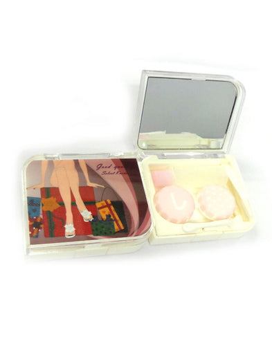 SHOPOHOLIC - Designer Contact Lens Cases - A8032PL