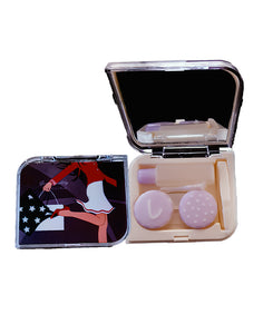 SHOPOHOLIC - Designer Contact Lens Cases - A8032RK