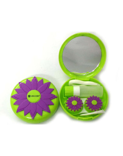 BLOOMS - Designer Contact Lens Cases - A8055PL - ARCADIO LIFESTYLE