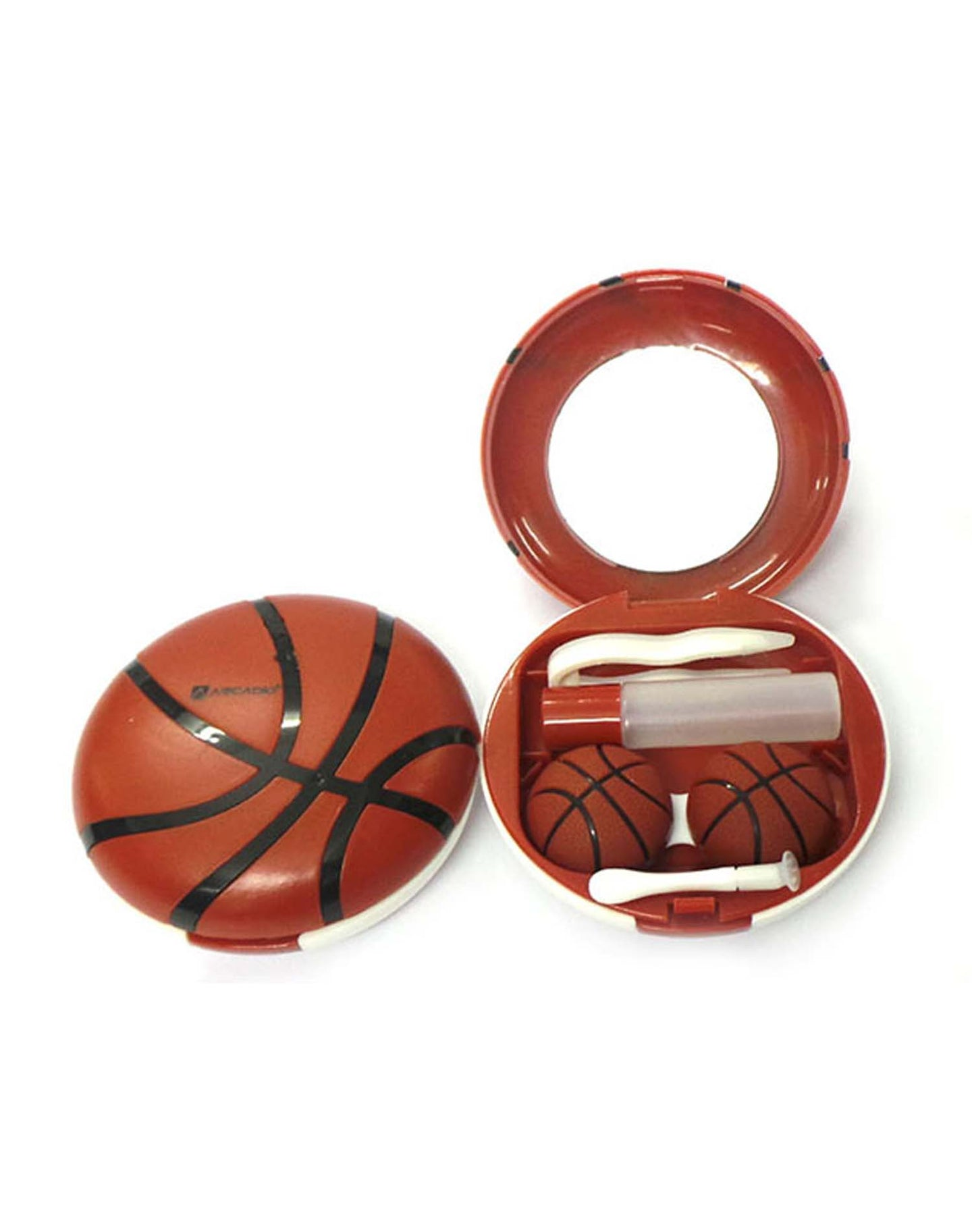 SPORT - Designer Contact Lens Cases - A8060BR - ARCADIO LIFESTYLE