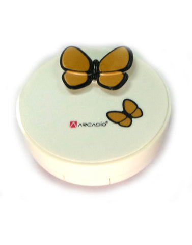 BUTTERFLY EFFECT - Designer Contact Lens Cases - A8063A-YL
