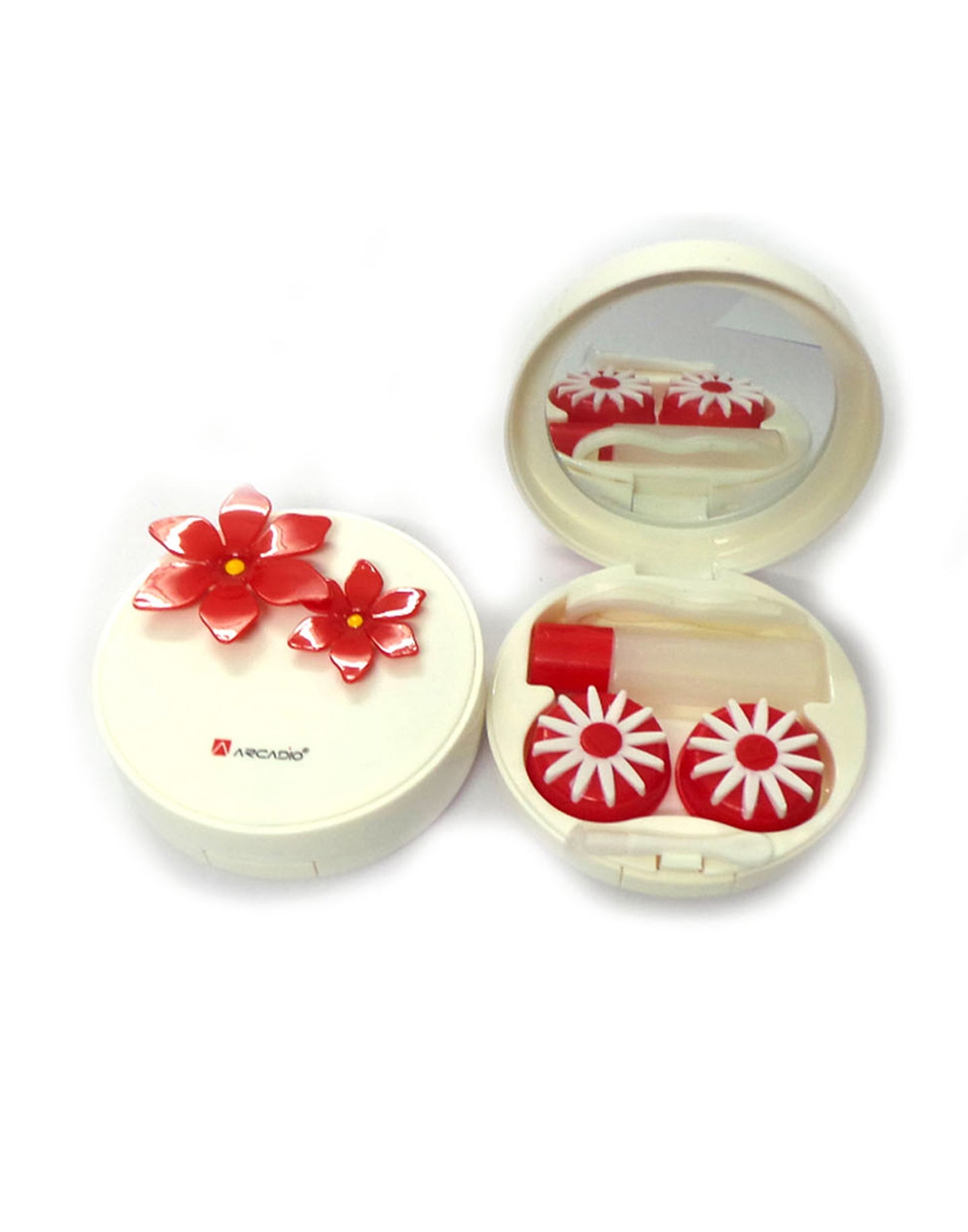 DAISY - Designer Contact Lens Cases - A8063RDS