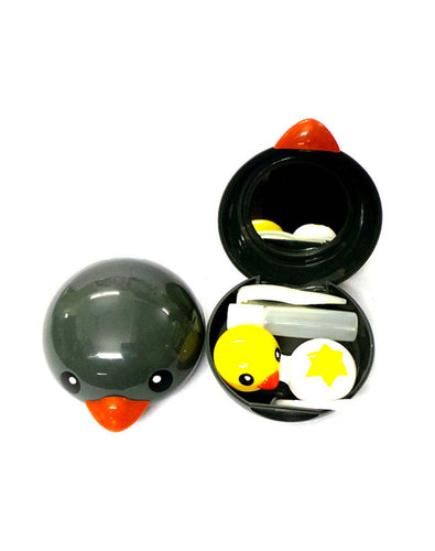 DUCKS - Designer Contact Lens Cases - A8087GY - ARCADIO LIFESTYLE