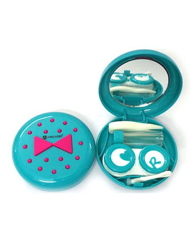 BOW TIE - Designer Contact Lens Cases - A8097BL - ARCADIO LIFESTYLE