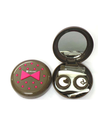 BOW TIE - Designer Contact Lens Cases - A8097BR - ARCADIO LIFESTYLE