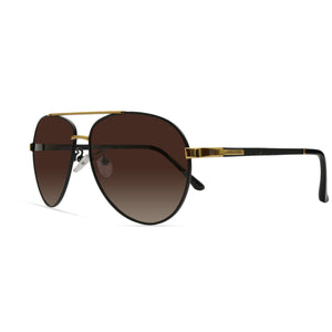 Two-Tone Aviator Sunglasses AR109A - ARCADIO LIFESTYLE