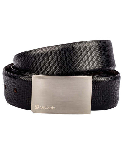 SIMPLY STYLISH - Contemporary Leather Belt - ARB1002RV